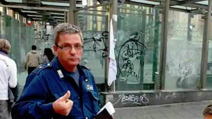 guardia aggredita nella metro e morto franco della corte
