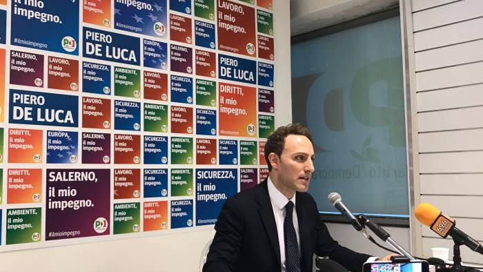 Vincenzo De Luca: in Campania la camorra dietro al voto ai Cinquestelle