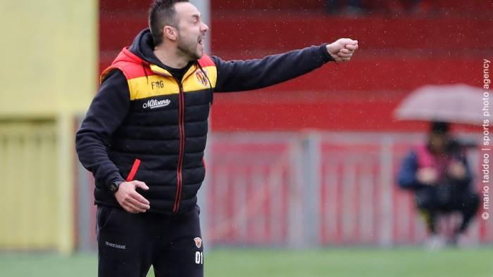 Benevento, De Zerbi non molla: ''Crediamo ancora nella salvezza''