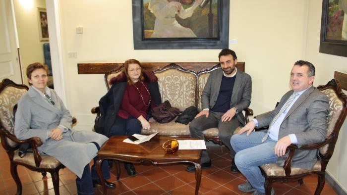 I parlamentari cinque stelle incontrano di maria for I parlamentari