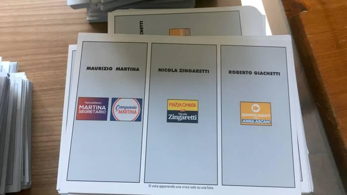 primarie partito democratico candidati e seggi dove votare