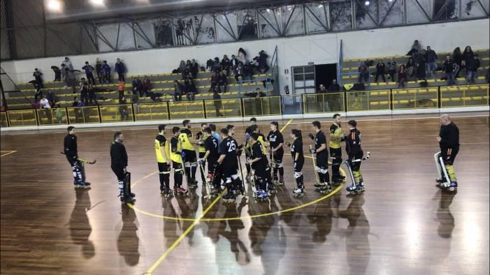 hockey pista la roller salerno vince il derby contro eboli