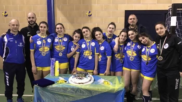 l academy school volley e campione ora le fasi regionali