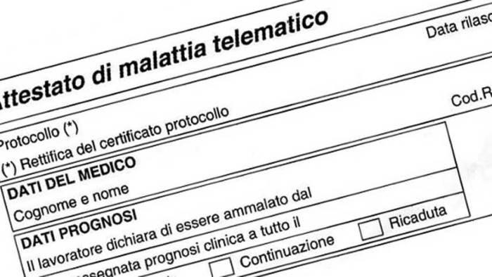 Boom Di Richieste Per Certificati Di Malattia Stop Ai Medici Ottopagine It Caserta