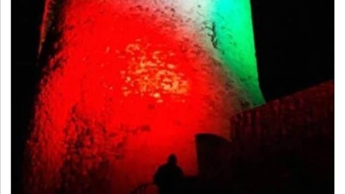 la torre di summonte diventa un tricolore