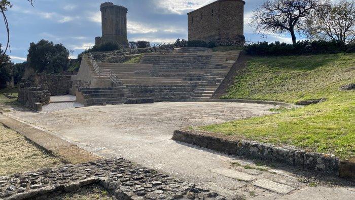 conclusi i lavori di manutenzione al teatro antico di velia
