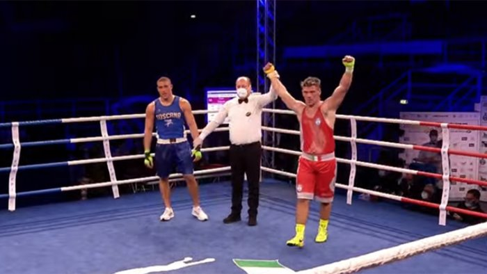boxe mangiacapre e russo sul ring del boxam 2021