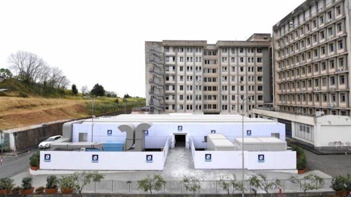 ospedale modulare salerno indagine corte dei conti