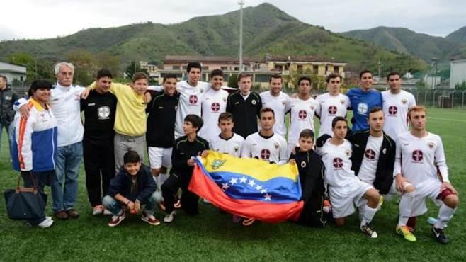 il calcio venezuelano sbarca nella valle dell irno
