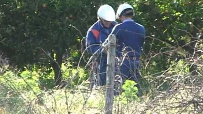 furto di cavi elettrici a greci