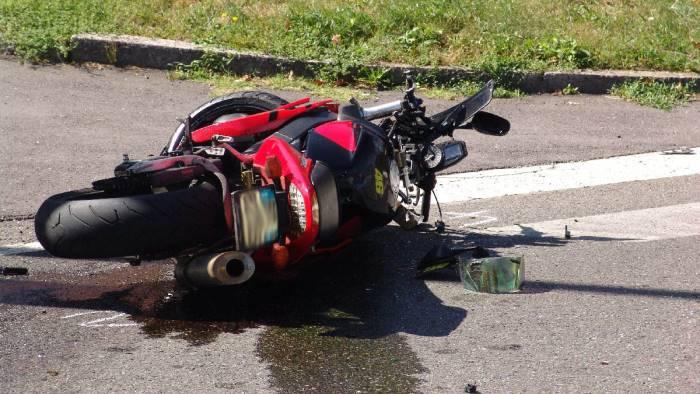 Ofantina, incidente mortale per un motociclista
