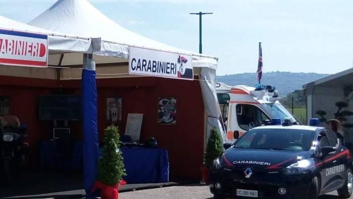 alla fiera di venticano sorpresa dei carabinieri