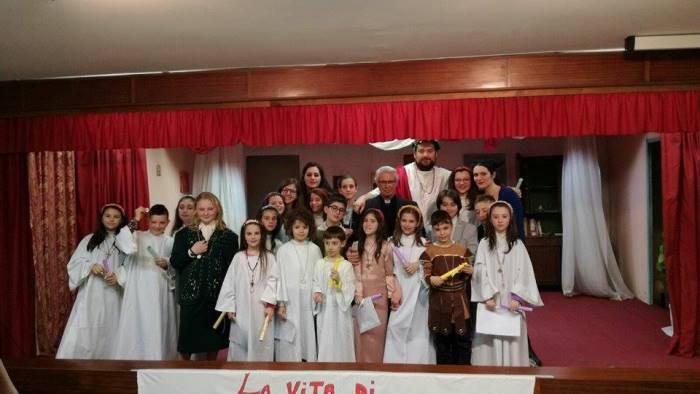 i bambini del laboratorio teatrale piccoli grandi attori