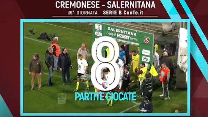 video cremonese salernitana i precedenti