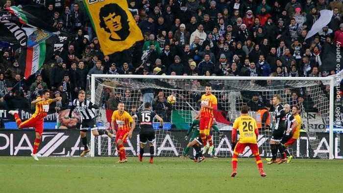Tudor alla prova Benevento: