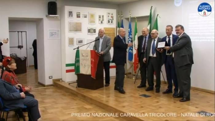 sindacalismo a spera ugl il premio caravella tricolore