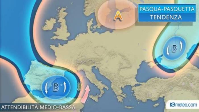 torna l alta pressione subtropicale tempo piu stabile e caldo