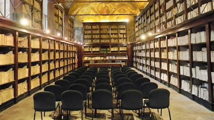 l archivio di stato rimarra aperto per le visite