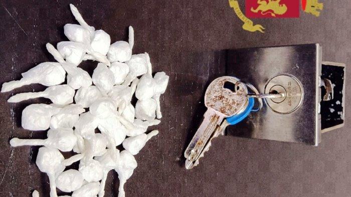 nasconde la droga in garage arrestato uno spacciatore
