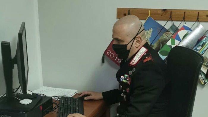 truffe on line beccati dai carabinieri 3 malviventi