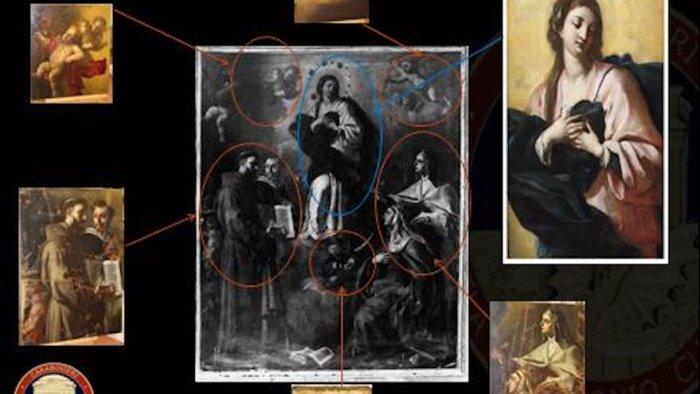 carabinieri restituiscono dipinti rubati nel 97 a montesarchio