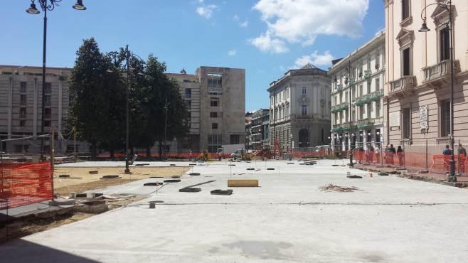 piazza liberta si rischia un nuovo stop dei lavori