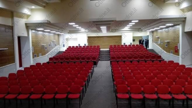 l auditorium del fermi e pronto ecco le prime foto