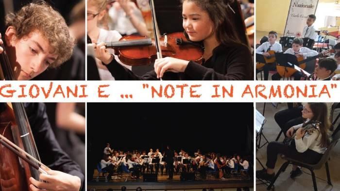 le scuole musicali di tutta la campania a montella