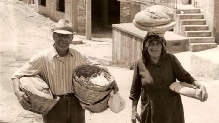 a quei tempi quando il pane si faceva solo in casa