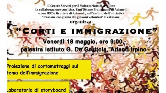 corti e immigrazione studenti in campo
