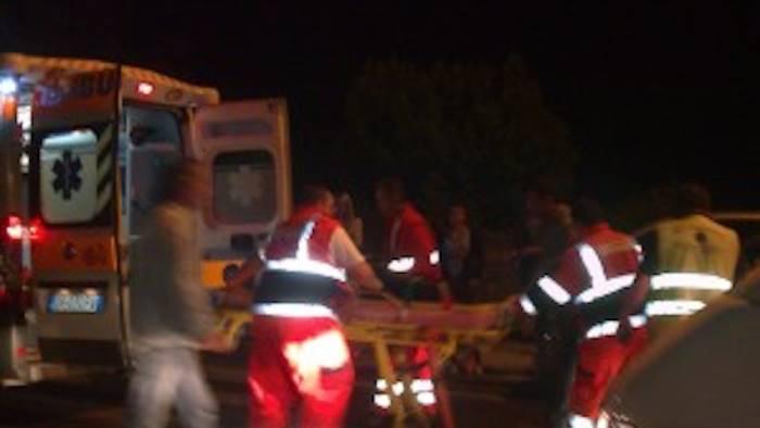 scontro violentissimo tra due camion c e un morto