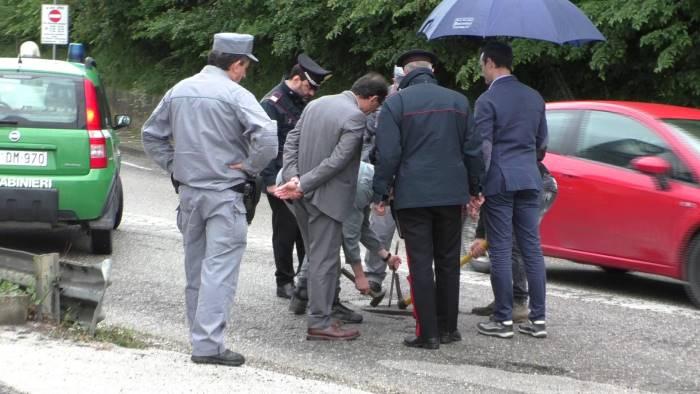 ariano ispezioni delle fogne da parte di carabinieri e arpac