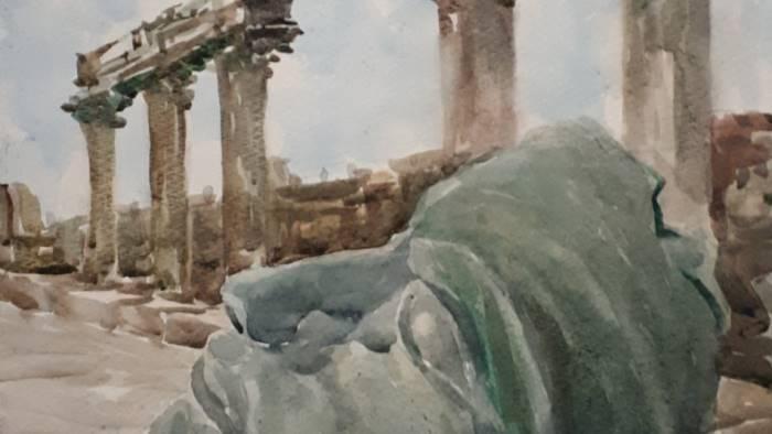frammenti della campania nell arte di congyue luo