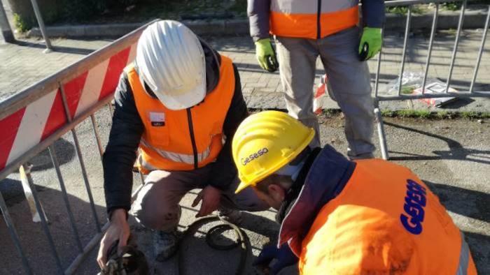 interruzione idrica per lavori in via carlo labruzzi