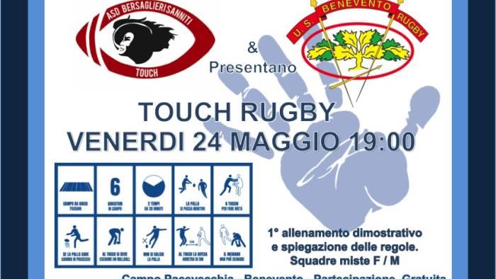 rugby al pacevecchia allenamento di touch
