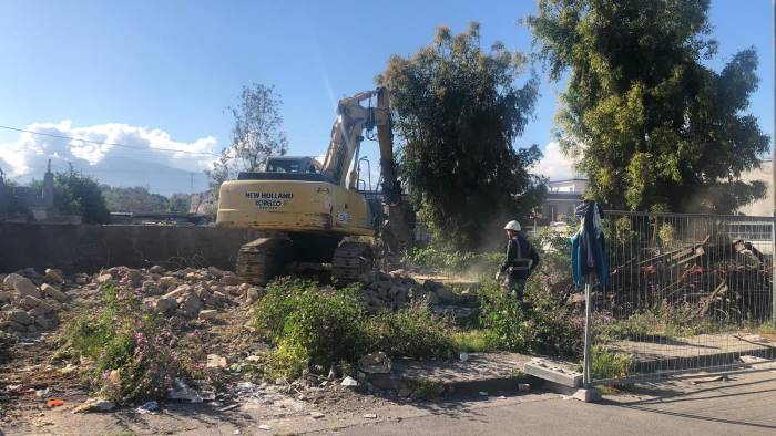 piano di recupero urbano villa regina procedono i lavori