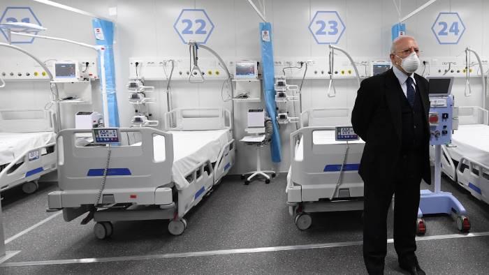 de luca covid hospital caserta straordinario