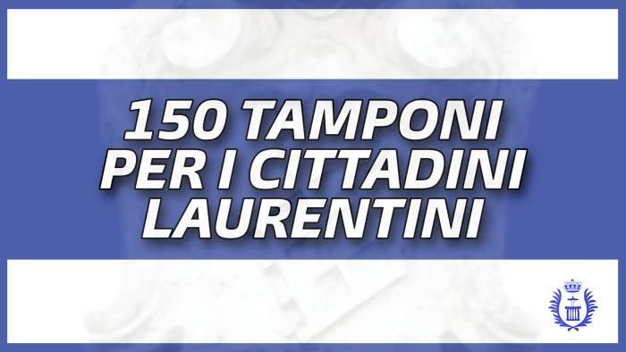 150 tamponi per i cittadini di san lorenzo maggiore