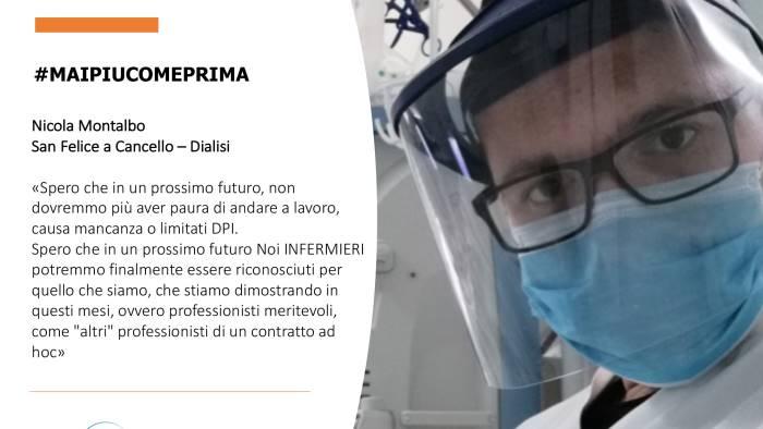 nursing up le testimonianze degli infermieri eroi