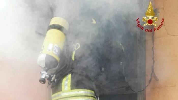 incendio abitazione a sant agata cause ancora da accertare