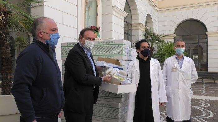 covid19 200 caschi di ventilazione per gli ospedali sanniti