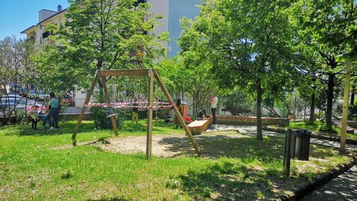 riaprono i parchi a salerno situazione sotto controllo