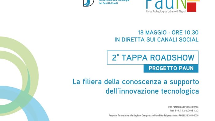 progetto paun seconda tappa del roadshow a napoli