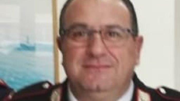 carabinieri addio al comandante giusto aveva 55 anni
