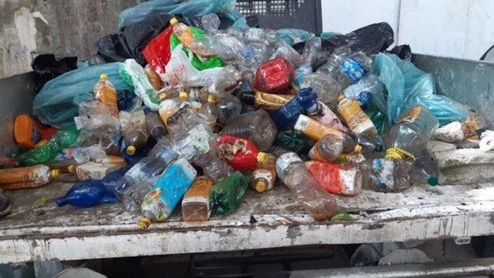 montecorvino sequestrato camion con 5 quintali di rifiuti
