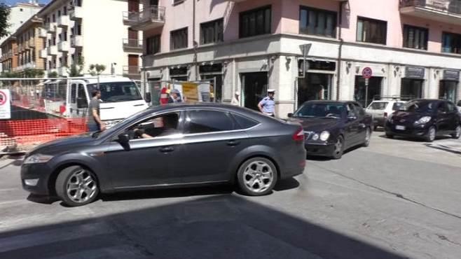 caos corso europa automobilisti in rivolta traffico in tilt