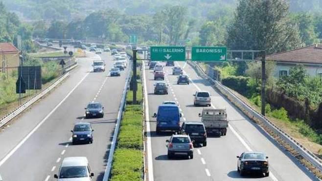 lavori sul raccordo av sa via alle limitazioni del traffico