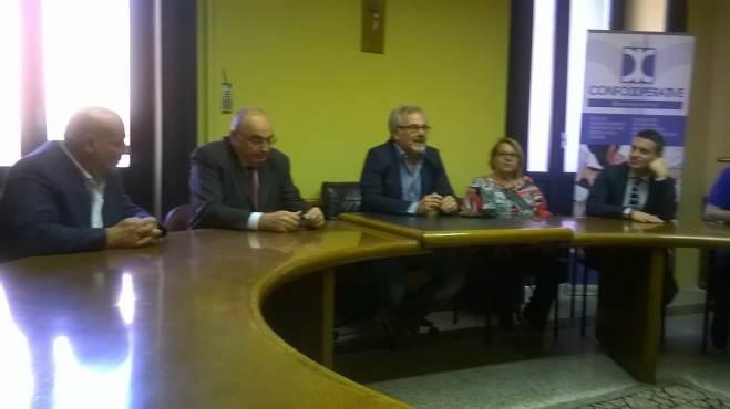 campese incontra il presidente confcoperative gardini