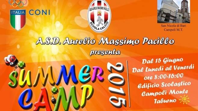 summer camp si inizia il 15 di giugno