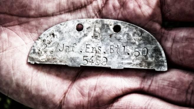 ritrovati i resti di un soldato tedesco ucciso a salerno